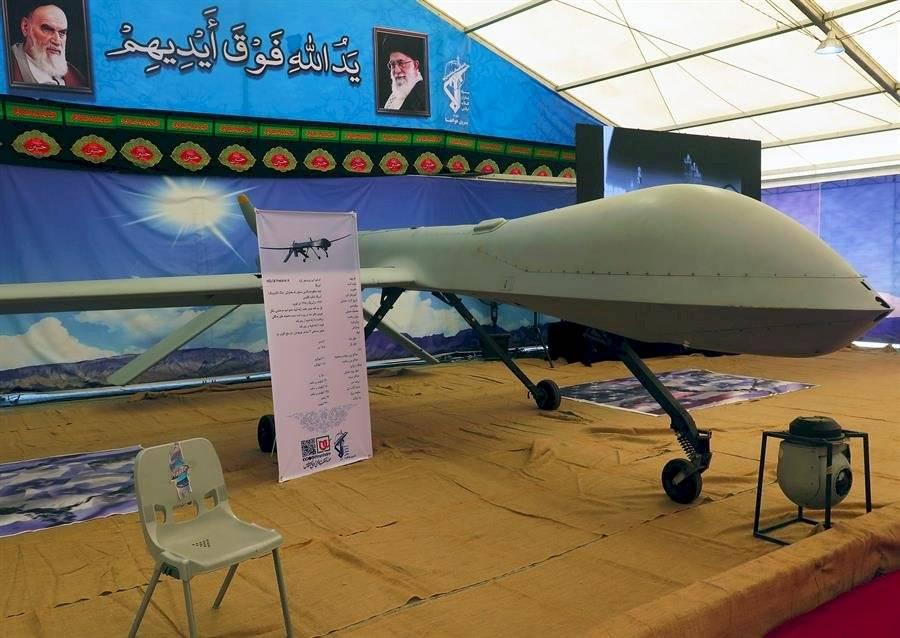 Los drones son exhibidos como trofeos EFE