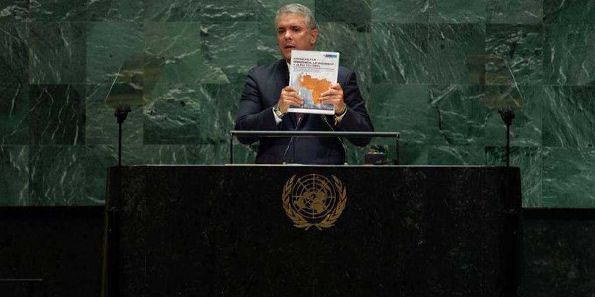 La curiosa petición de Duque al mundo con respecto a migración venezolana