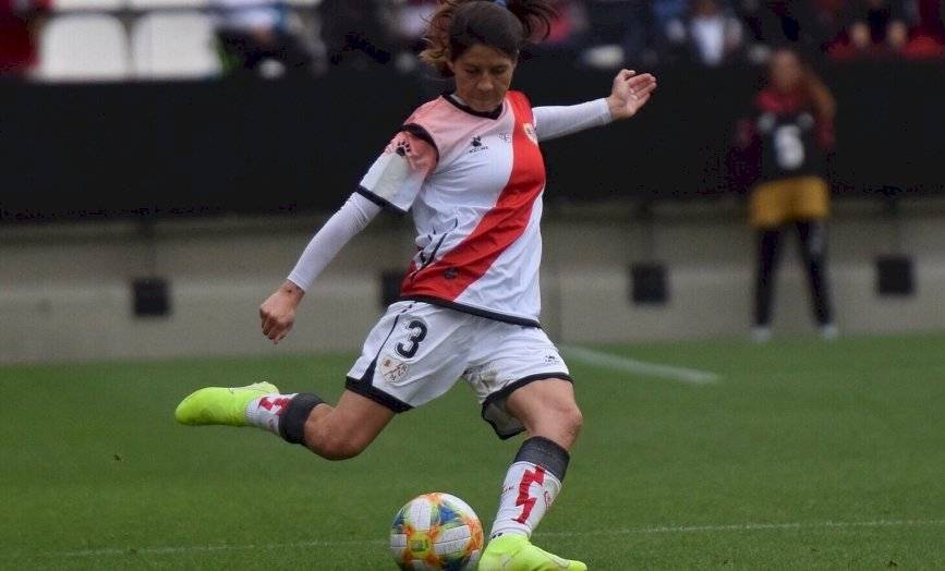 Carla Guerrero vive su segunda temporada en el Rayo Vallecano. Su primer año estuvo marcado por una grave lesión / Foto: La Liga