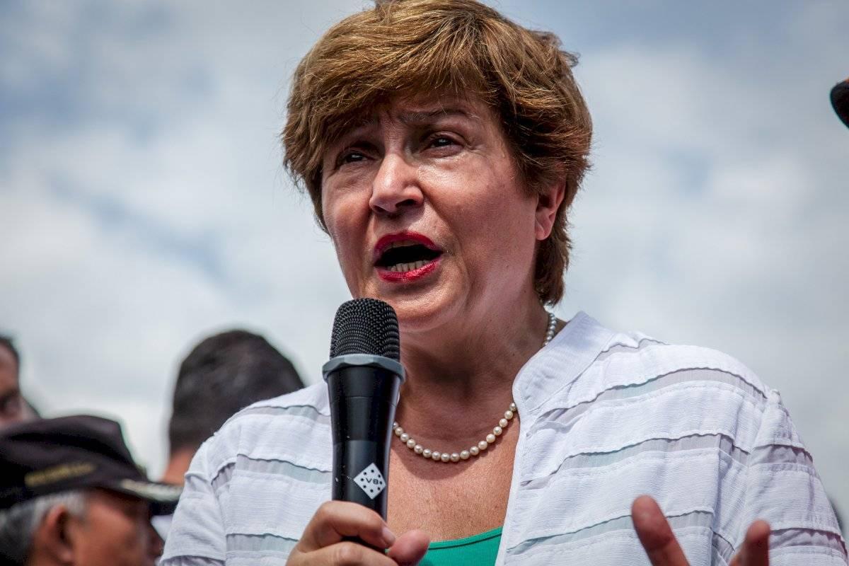 Georgieva, fue vicepresidenta de la Comisión Europea entre 2014 y 2016