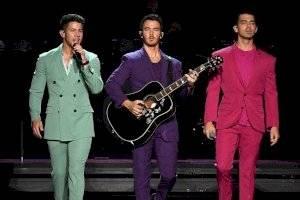 Los Jonas Brothers en concierto