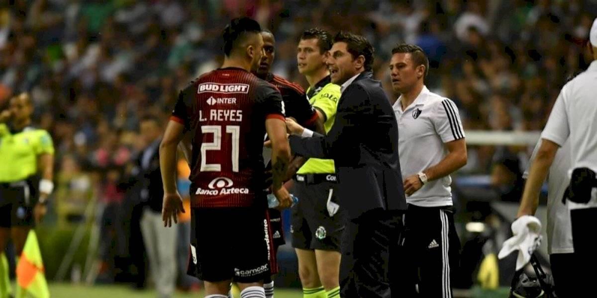 Leandro Cufré lamenta que el Atlas perdiera dos puntos en León
