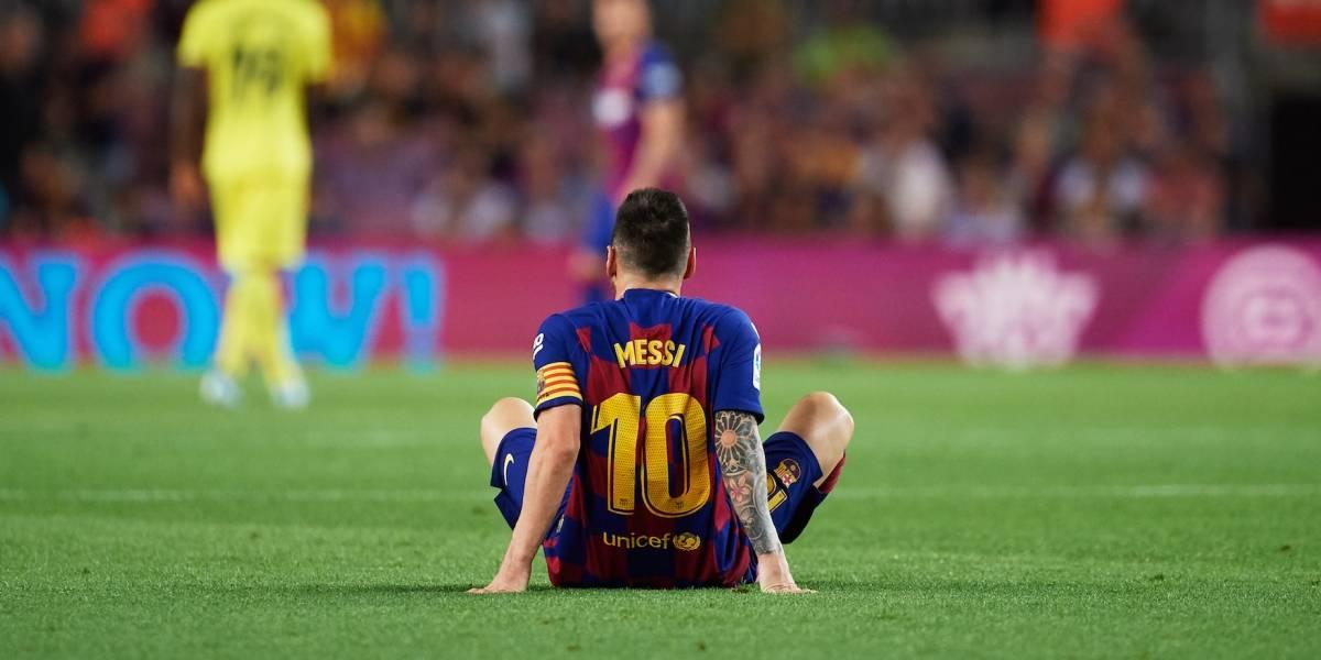 Messi se perderá al menos dos partidos con el Barcelona