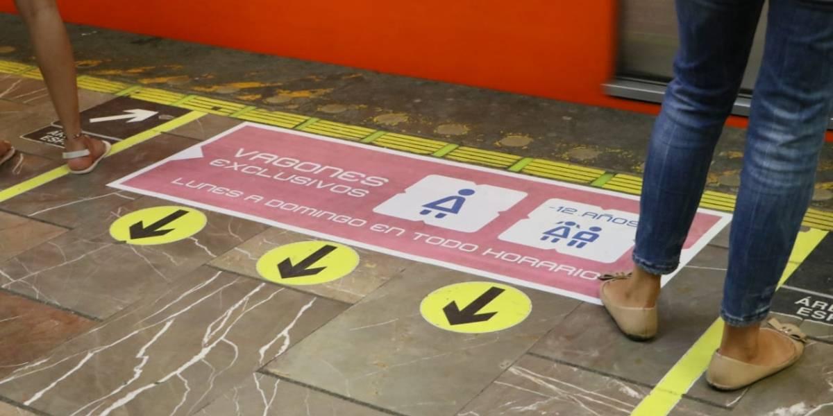 Sancionarán a hombres que invadan vagones exclusivos para mujeres en Metro y Metrobús