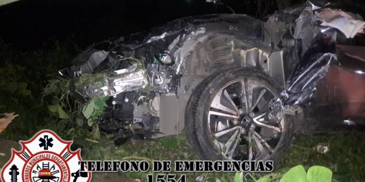Accidentes de tránsito dejan al menos tres heridos en ruta Interamericana