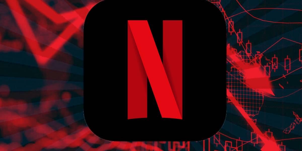 Las acciones de Netflix podrían estar a punto de llegar a su peor cuatrimestre de la historia