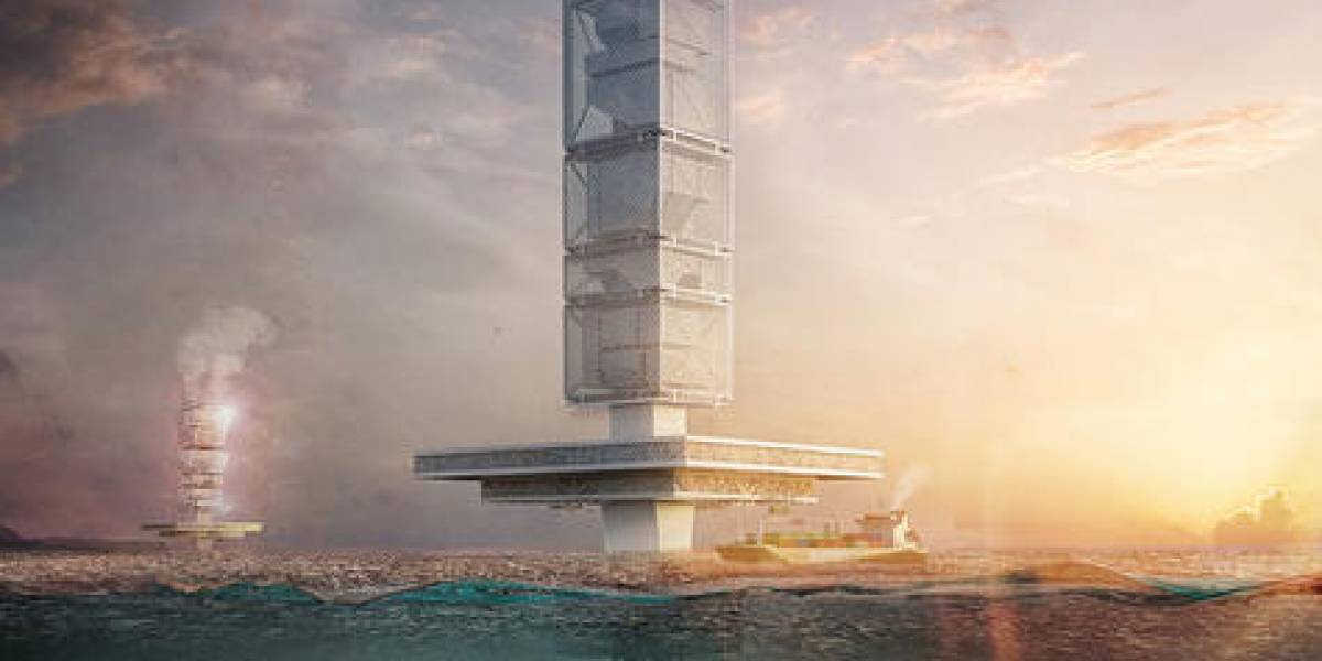 Un rascacielos flotante para limpiar los océanos