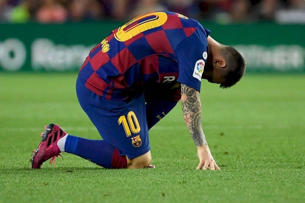 Parte médico lesión Lionel Messi