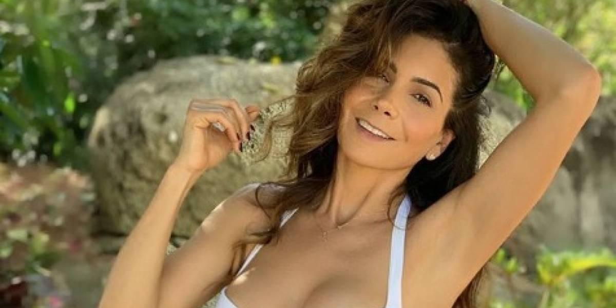 Patricia Manterola y su desinhibida fotografía de sus glúteos a sus 47 años