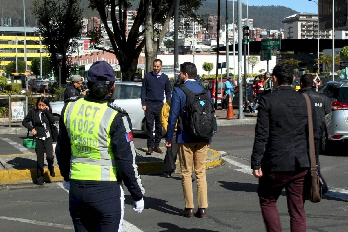 Opertaivos peatoes Quito