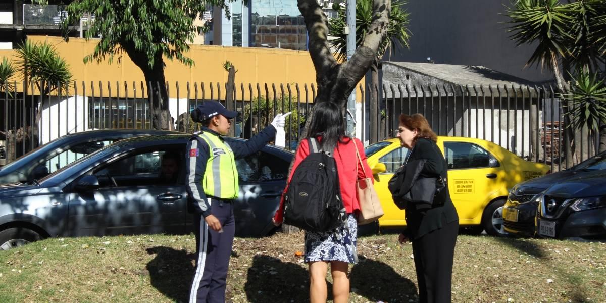Operativos preventivos para peatones se realizan en Quito, ¿cuáles son las sanciones?