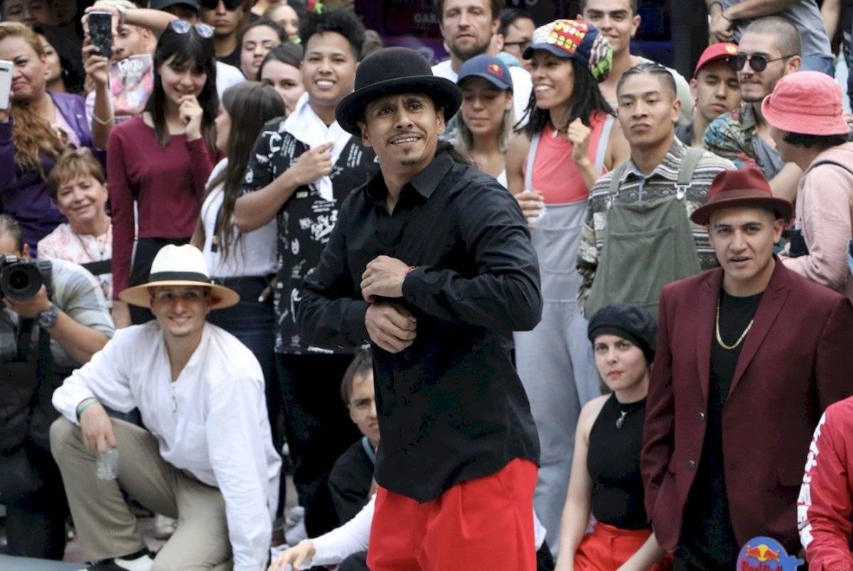 El bailarín pudo adaptarse a todos los ritmos Axel Amézquita