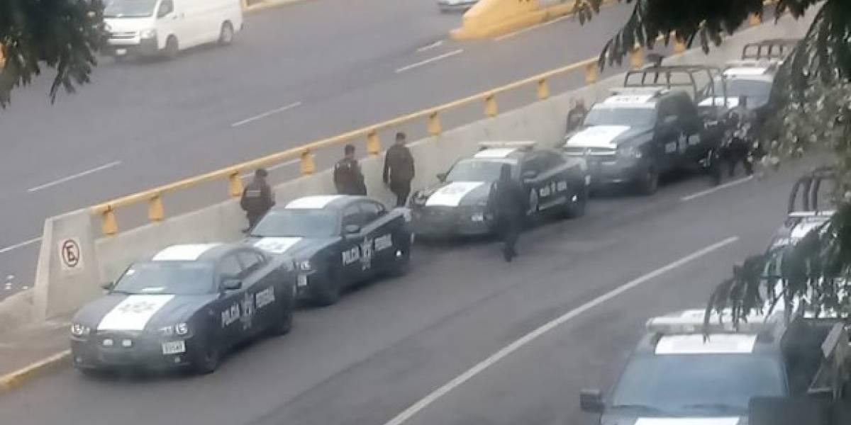 Despliegan operativo en AICM por amenaza de bloqueo de policías federales