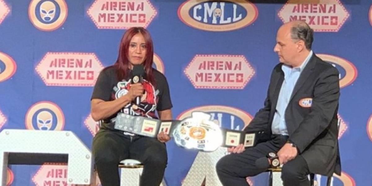 Marcela no expondrá su título frente a Dalys en el 86 aniversario del CMLL