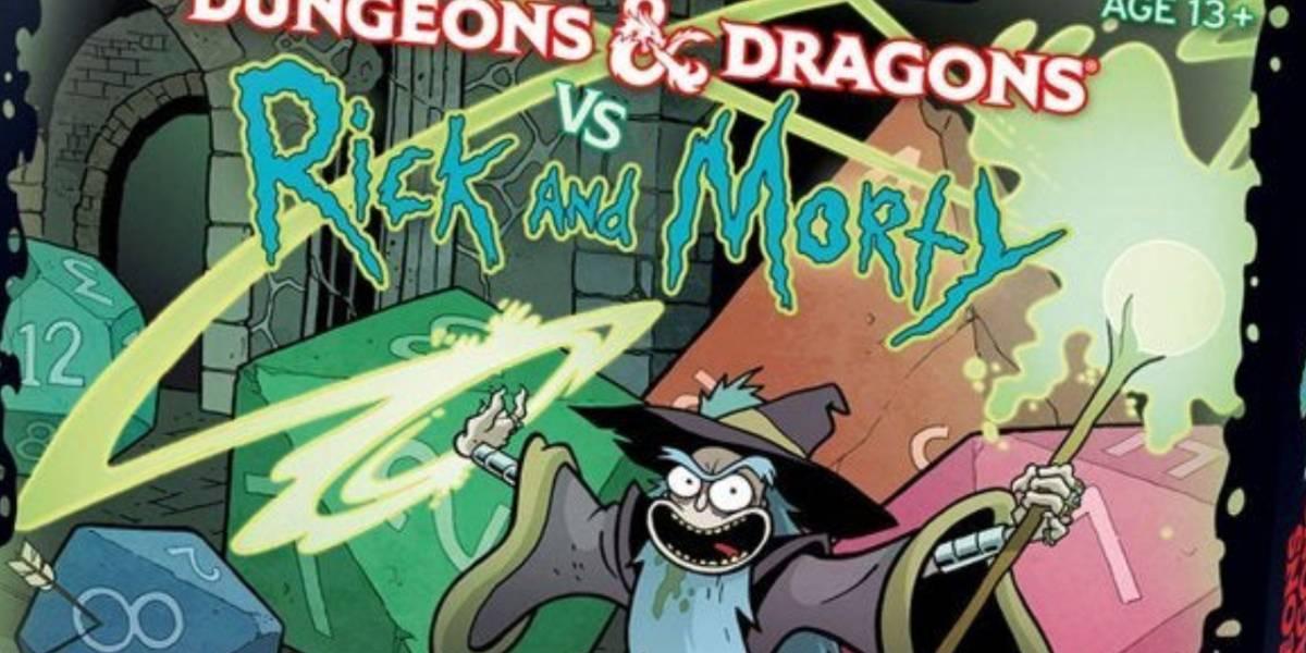 Ya puedes apartar el juego de Dungeons & Dragons vs Rick & Morty