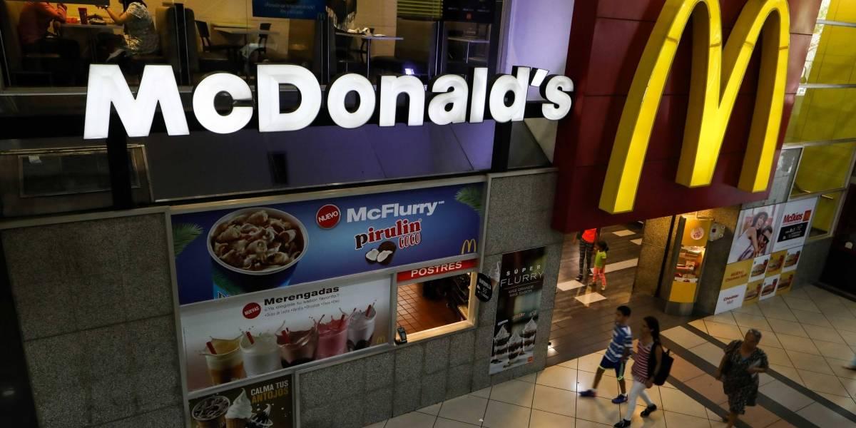 McDonald's venderá hamburguesas sin carne por tiempo limitado