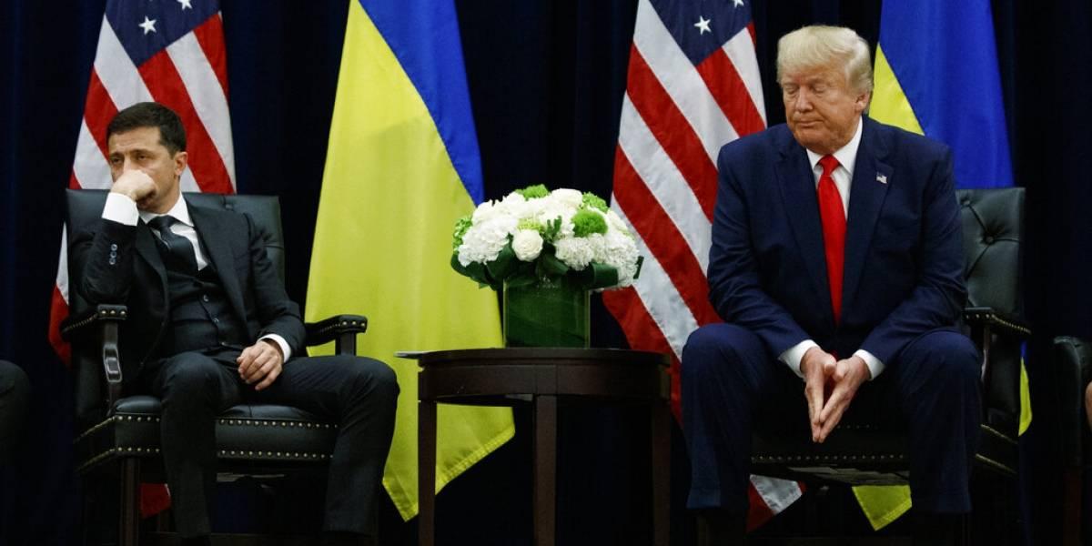 """""""Creo que estas cosas no deberían publicarse"""": la reacción de presidente de Ucrania tras revelación de su conversación con Trump"""