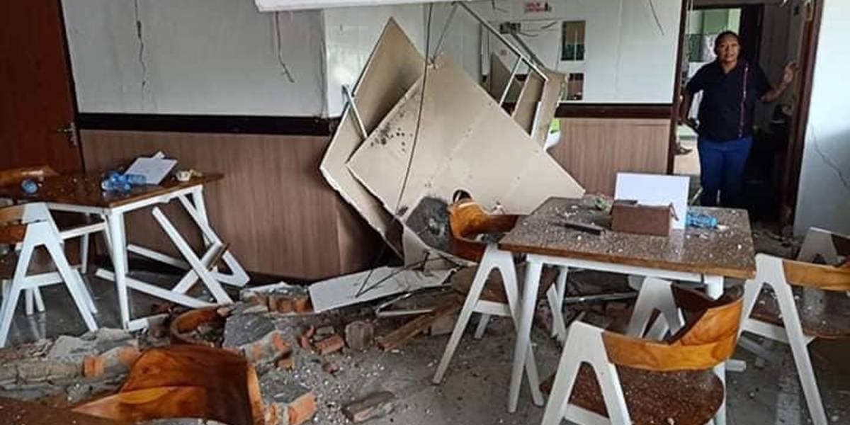 Al menos 20 muertos tras sismo magnitud 6.5 en Indonesia