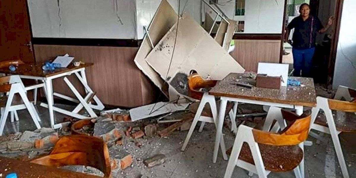 Sismo de 6,5 sacude a Indonesia