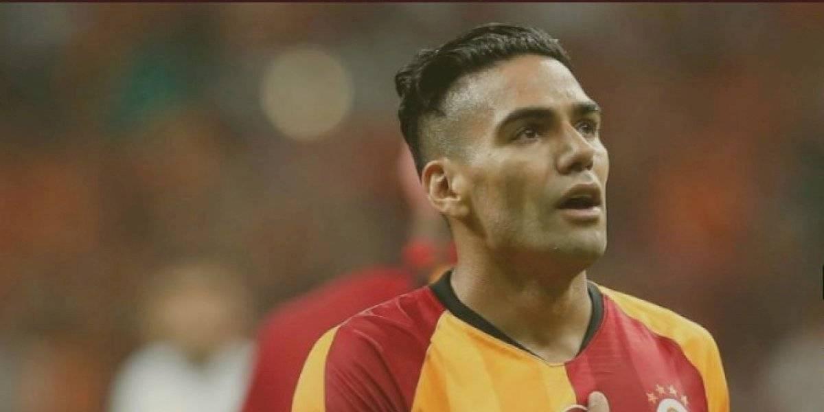 ¡Falcao se lesionó! Quedó fuera del partido del Galatasaray este fin de semana