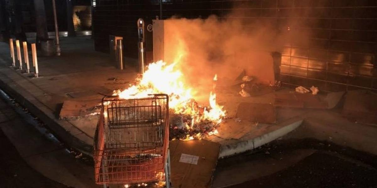 Intentó quemar vivo a un hombre en situación de calle que se encontraba durmiendo y tomó fotos del crimen