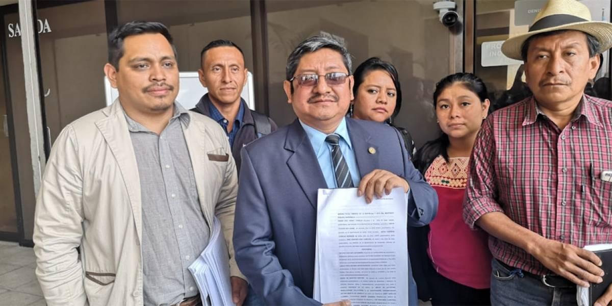 Comité Campesino del Altiplano denuncia al presidente Jimmy Morales