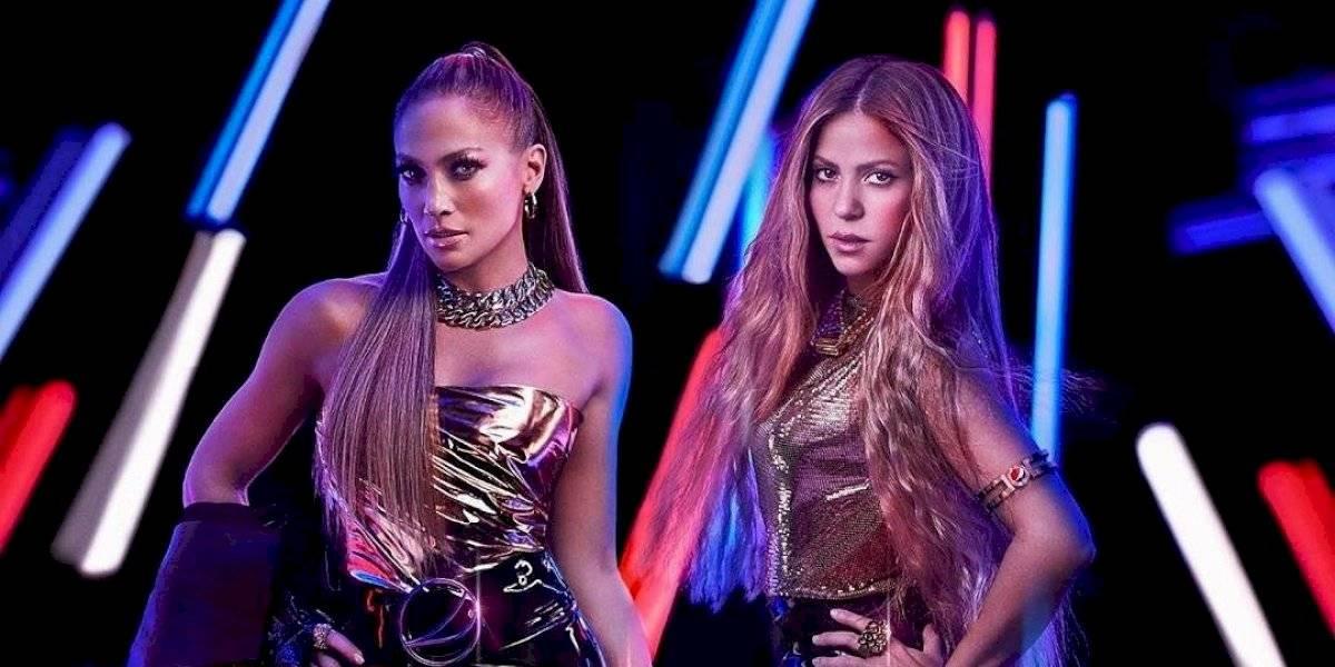 Shakira y Jennifer López estarán el medio tiempo del Super Bowl LIV
