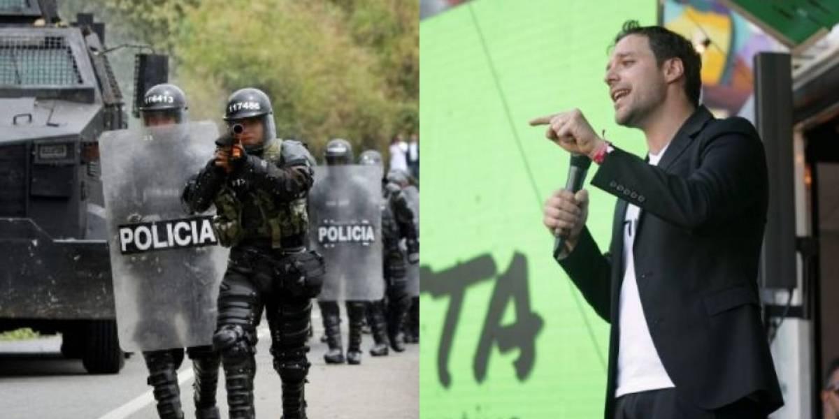 La peculiar propuesta de Luis Ernesto Gómez para controlar al Esmad