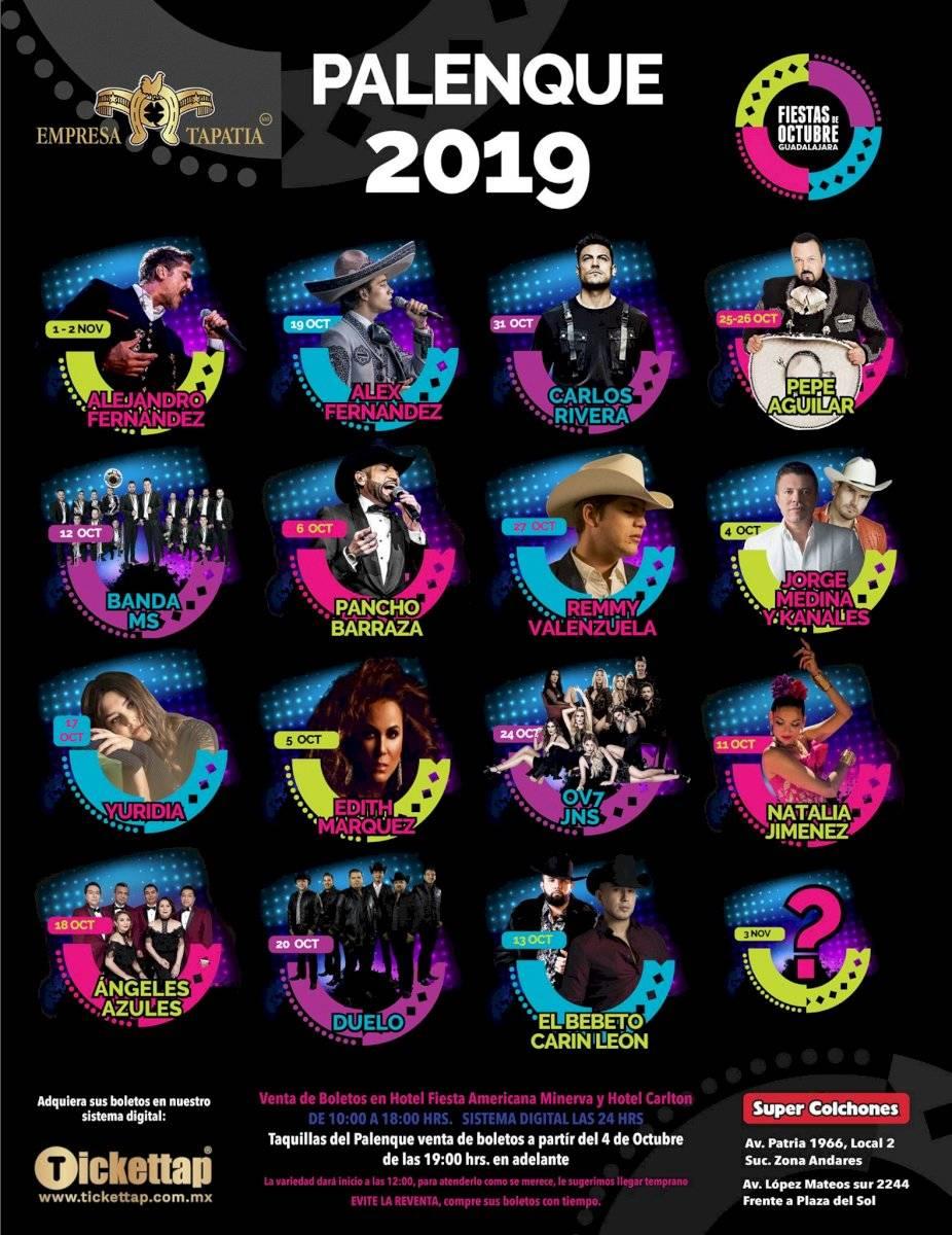 Fiestas de Octubre 2019