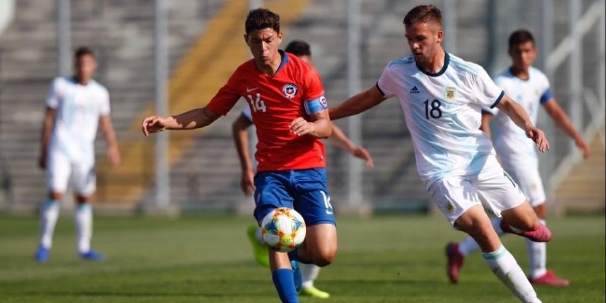 La Roja Sub 17 perdió ante Argentina en partido de preparación para el Mundial de Brasil