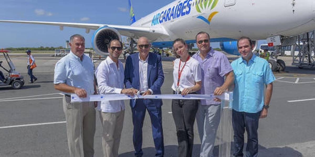 #TeVimosEn: Air Caraïbes estrena nuevo avión y apertura ruta Punta Cana-Francia