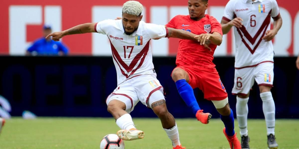 Josef Martínez anunció su retiro de la selección de Venezuela hasta que se vaya Dudamel