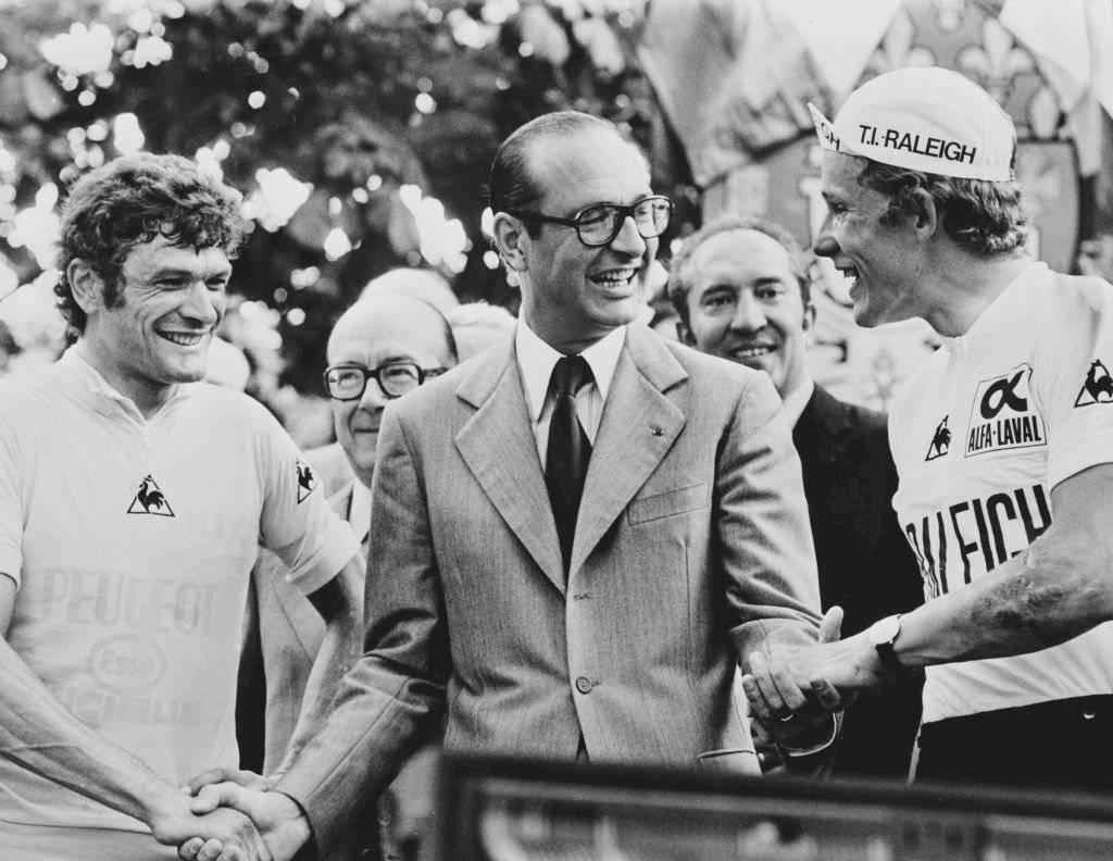 Foto de 1977, cuando era alcalde de París