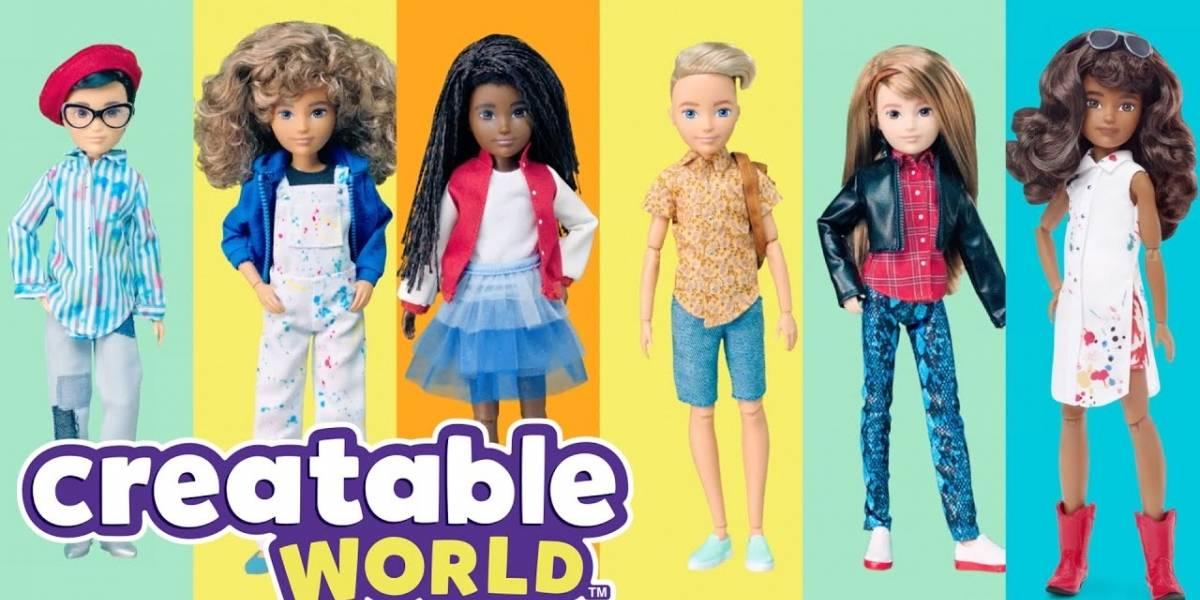 Mattel lança linha de Barbies sem gênero