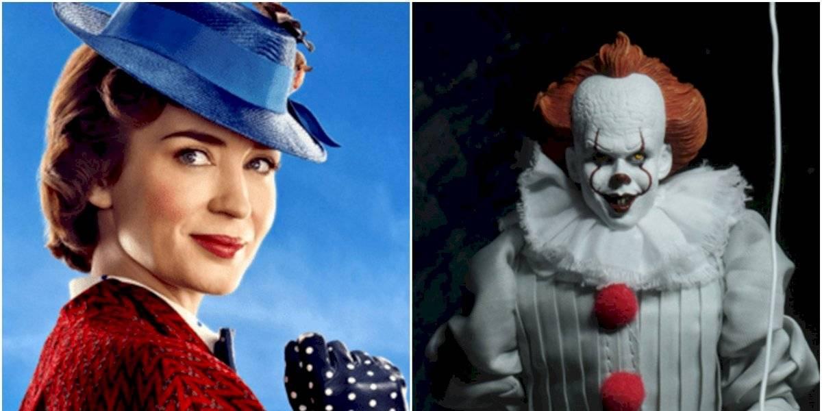 La teoría tiene impactada a las redes sociales: aseguran que Pennywise y Mary Poppins pertenecen a la misma especie