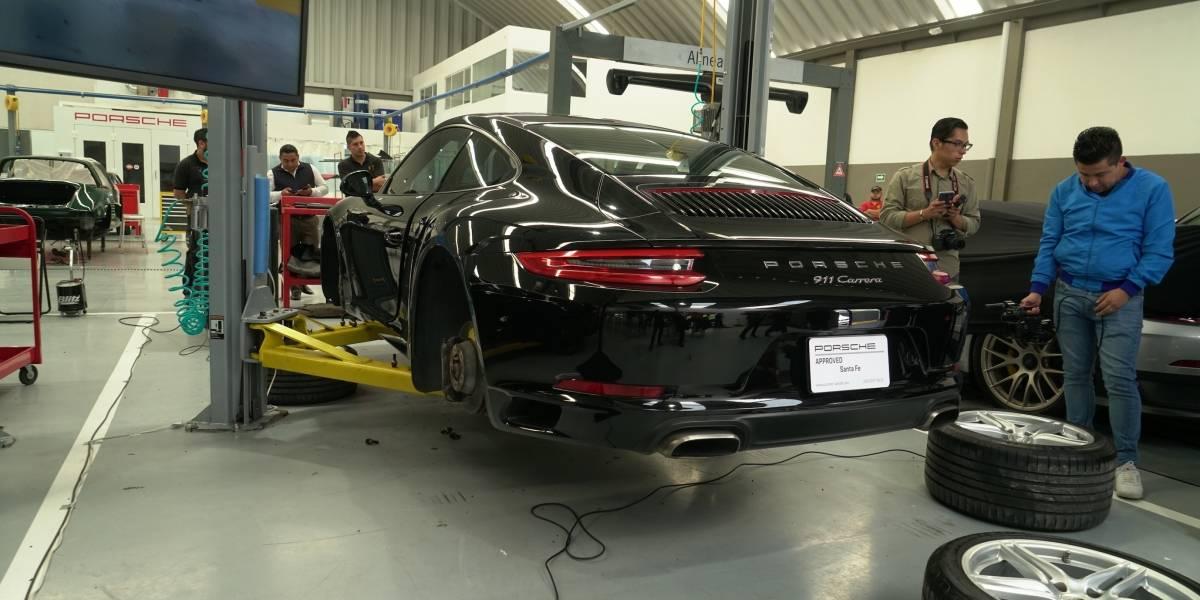 Porsche Pre-owned Car Centre Santa Fe: certificación para vehículos de reestreno