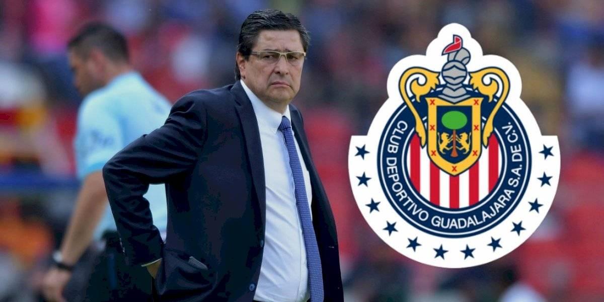 OFICIAL: Luis Fernando Tena es nuevo técnico de Chivas