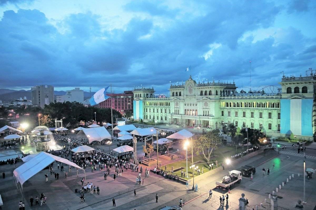 Plaza de la Constitución - Palacio Nacional