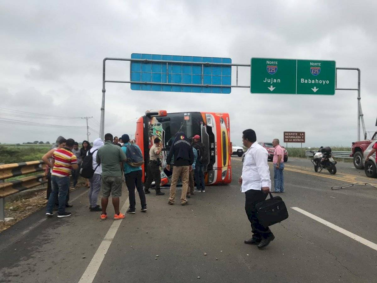 Accidente en Milagro