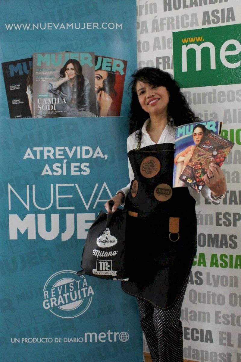Tercer lugar: Alanis Chicaiza Nueva Mujer
