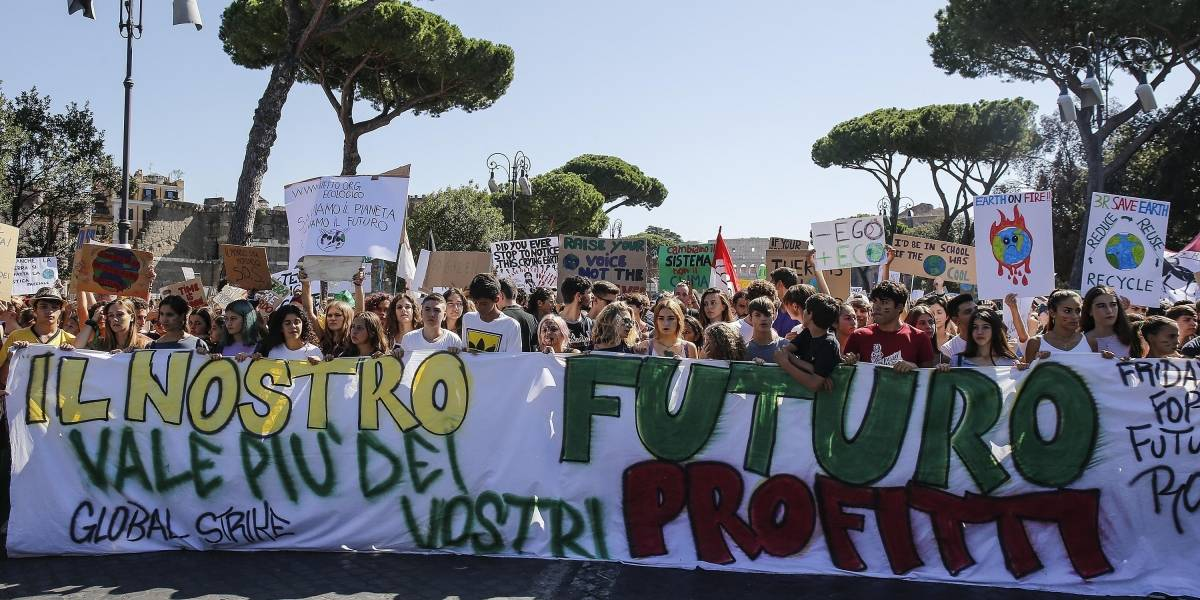 'Fridays for the Future' reúne a un millón de jóvenes en Italia