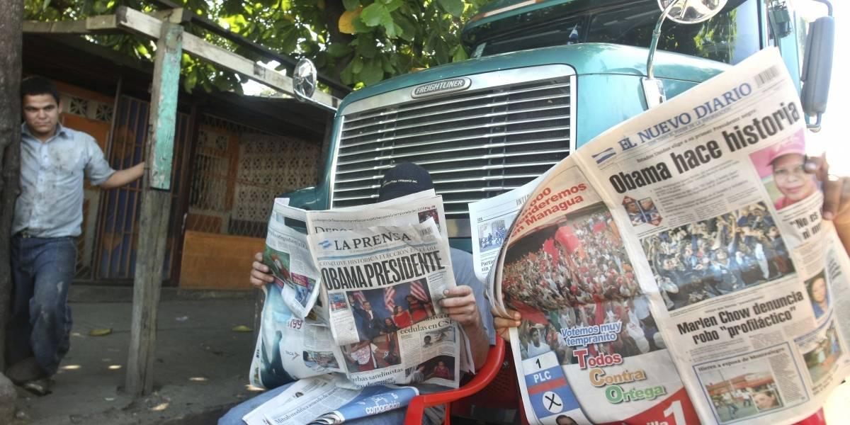 Cierra diario en Nicaragua tras bloqueo a importación papel