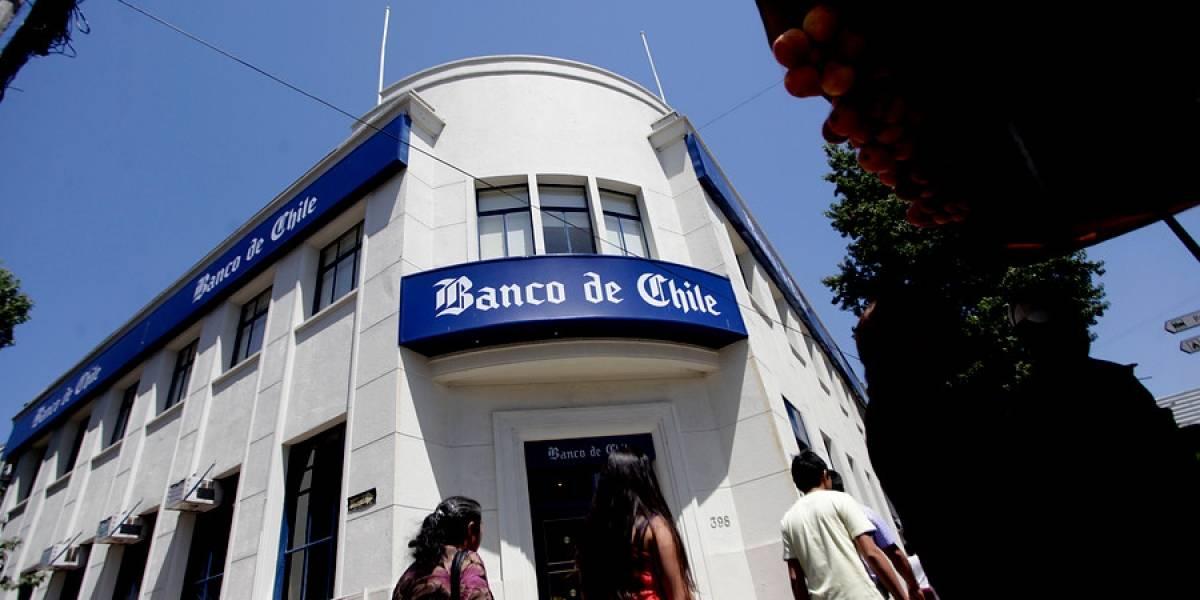Ganancias de bancos suman casi US$2.500 millones hasta agosto