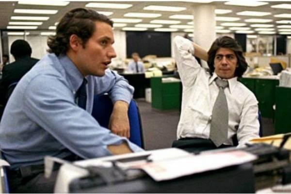Bob Woodward y Carl Bernstein