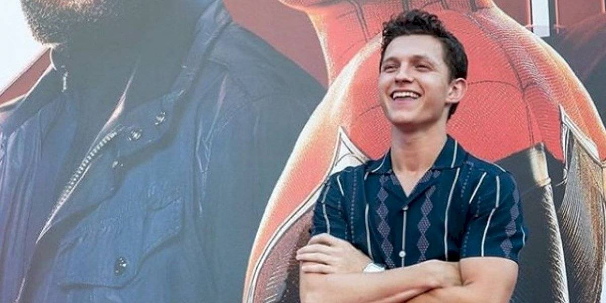 La reacción de Tom Holland tras confirmación de Spider-Man en el MCU