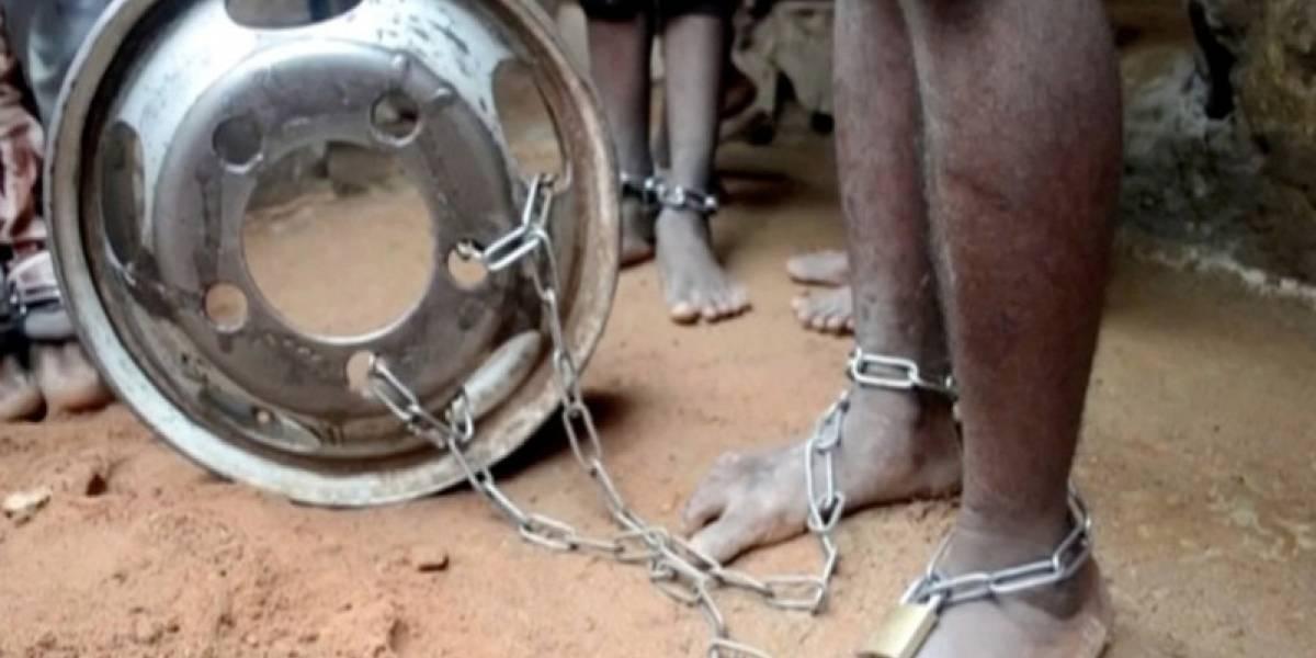 Rescatan cientos de niños encadenados como animales, torturados y víctimas de abusos sexuales