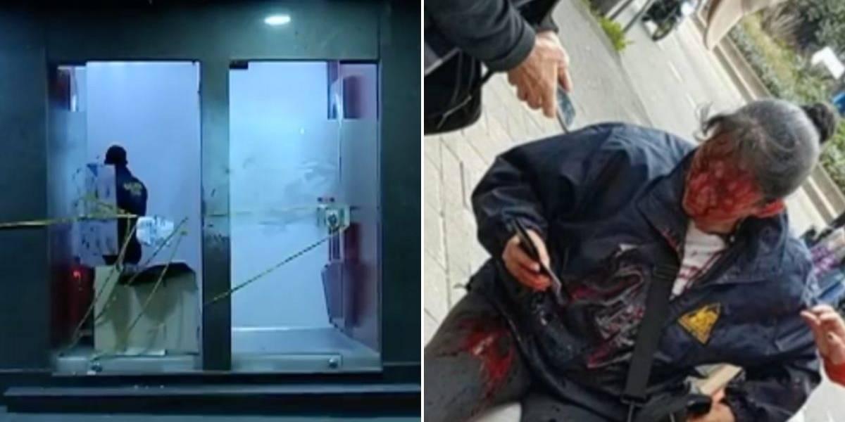 Mujer atacada por encapuchados en un cajero automático relató los momentos de angustia que vivió