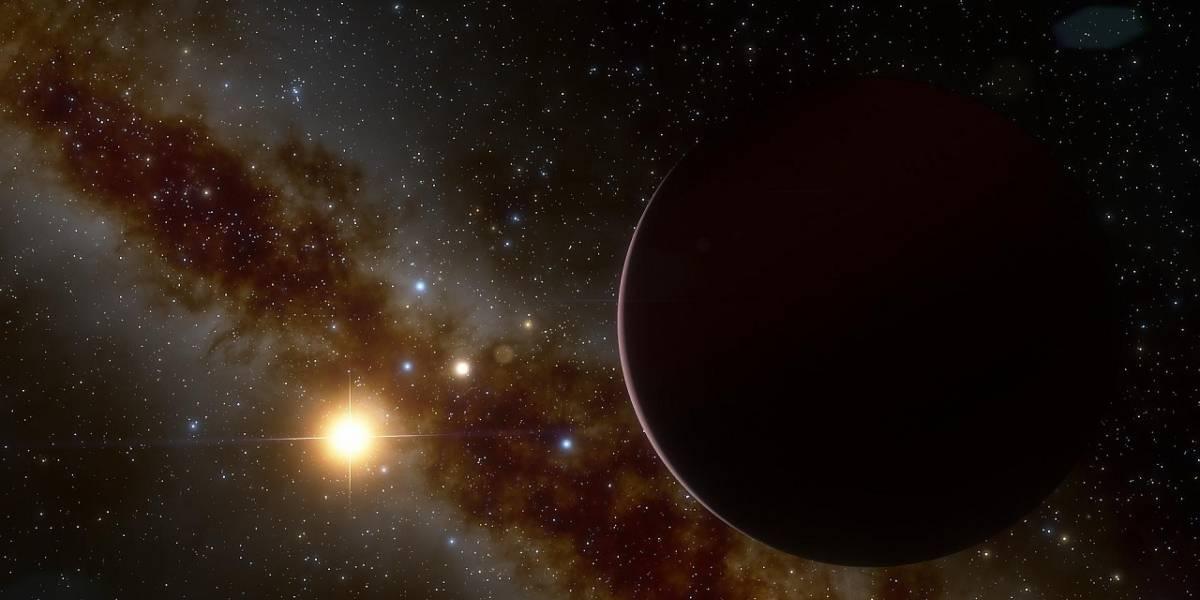 Exoplaneta gigante desafía teorías planetarias porque orbita alrededor de una estrella diminuta