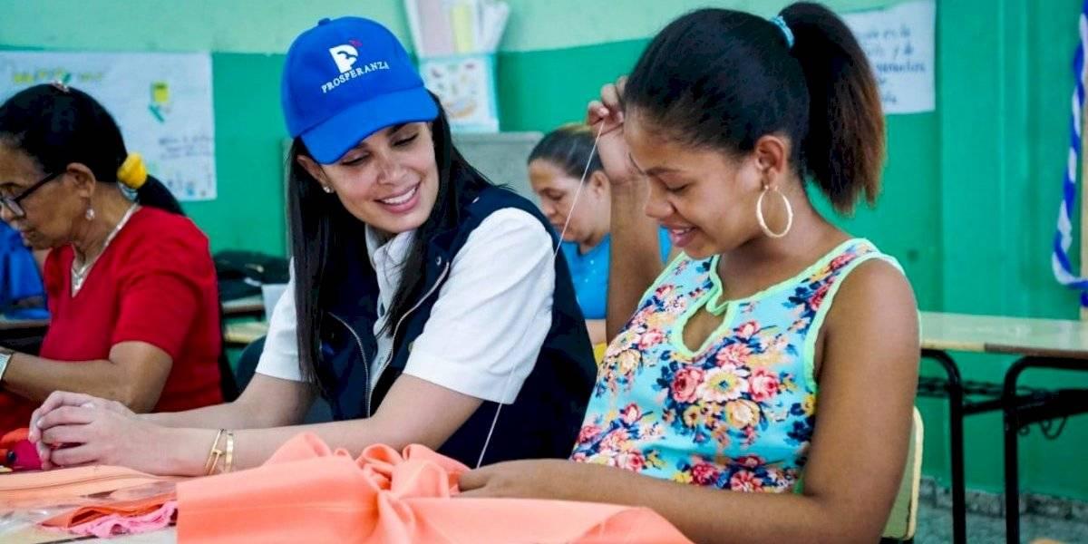 Judith Cury promueve la creación de nuevos proyectos entre las mujeres en Ocoa