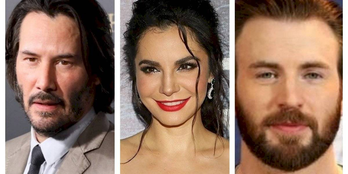 VIDEO. A Martha Higareda se le salió un moco frente a Keanu Reeves y Chris Evans